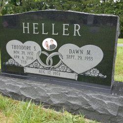 Heller tombstone